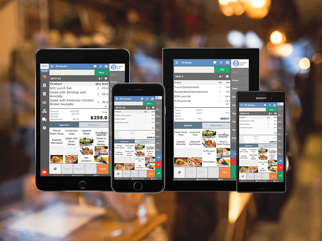 eRun F&B POS mobile ordering